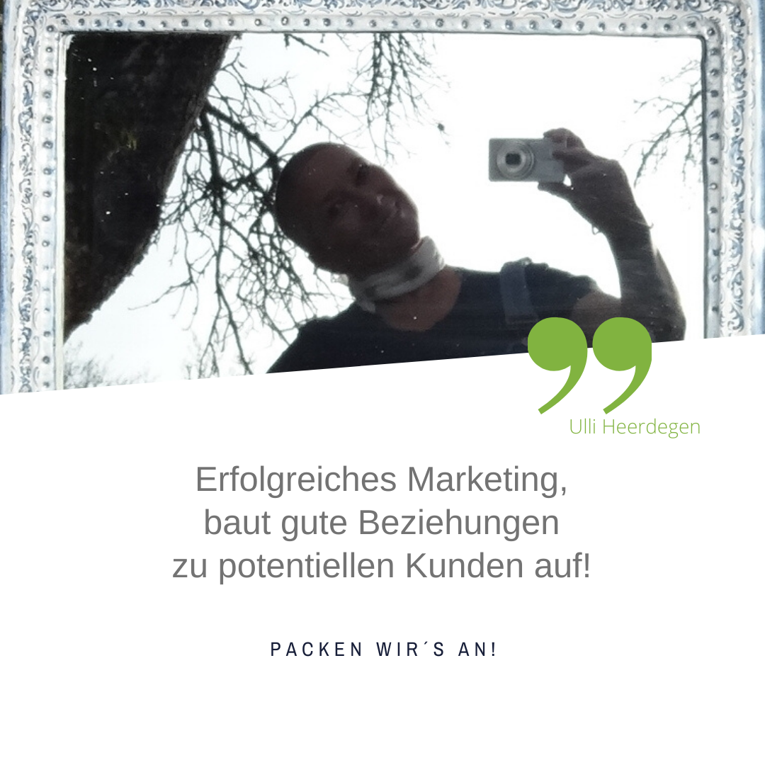 Marketing-Strategien für gute Beziehungen zu Kunden: UH MArketing & Webseiten